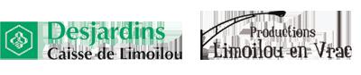 Logos Desjardins-Limoilou en vrac
